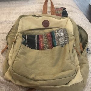 Rory Aztec multiple pocket backpack
